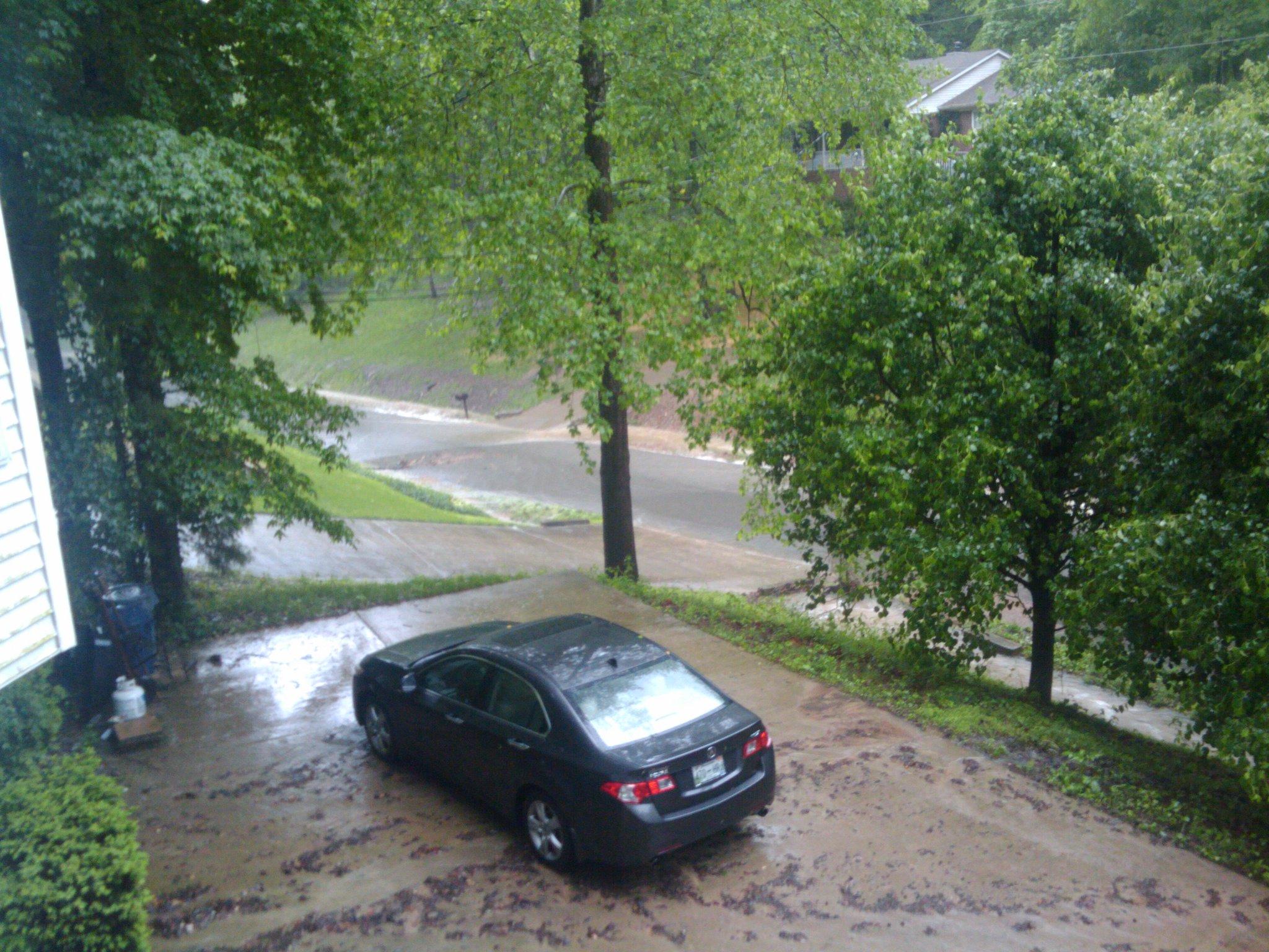 Raining on 5-2
